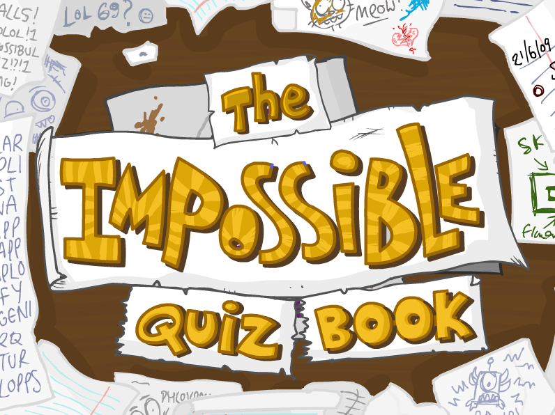 impossible quiz book